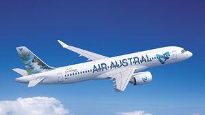 Airbus A220-300 für Air Austral.