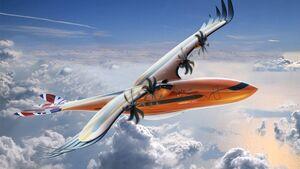 Bird of Prey - futuristisches Regionalflugzeug-Konzept von Airbus