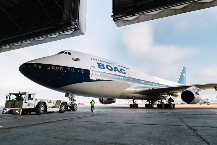 British Airways - BOAC 747