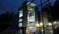Der neue Prüfstand P 5.2 am DLR-Standort Lampoldshausen. Dort soll voraussichtlich ab Ende 2019 die komplette Oberstufe der Ariane 6 getestet werden.