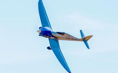 Die Flugzeuge für Air Race 1 werden für Rennanforderungen entworfen.