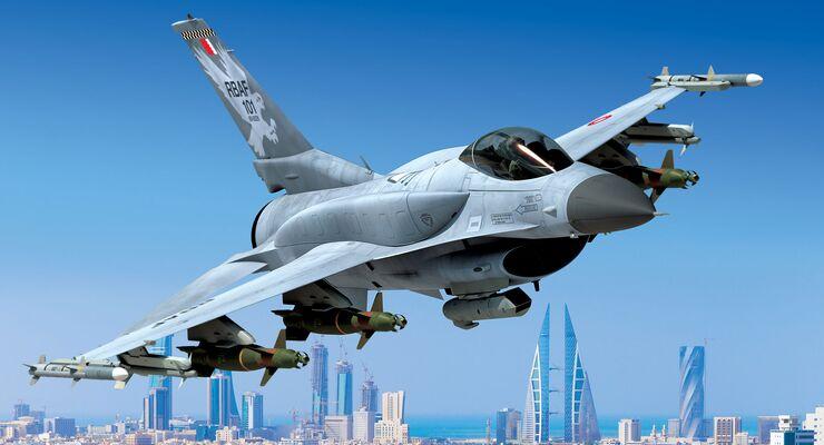 Lockheed Martin F-16 Block 70 für Bahrain.