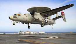 Northrop Grumman E-2D Advanced Hawkeye der US Navy.