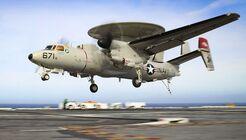 Northrop Grumman E-2D Advanced Hawkeye der US Navy.