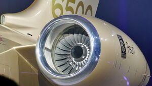 Rolls-Royce Pearl 15 am Global 6500 von Bombardier.