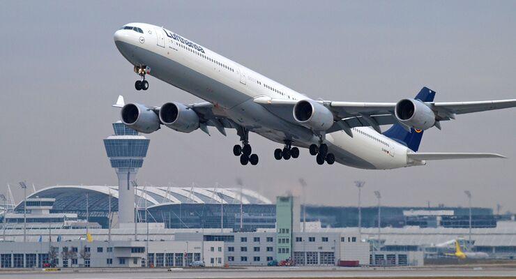 Mit A340 Von München Nach Mallorca Flug Revue
