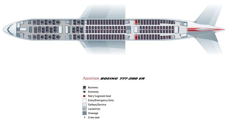 Boeing 777 200 Sitzplan - Sitzplan auf Deutsch